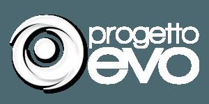 Logo white Progetto Evo Srl
