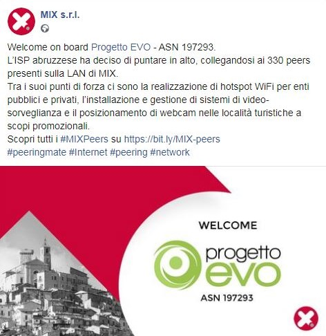 Mix Srl Proggetto Evo